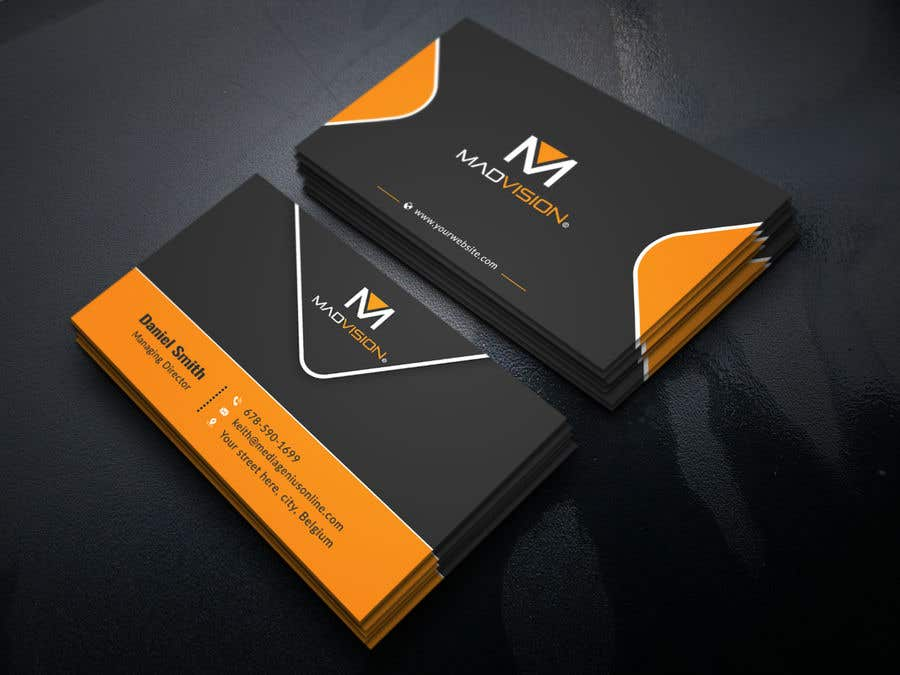 Proposition n°441 du concours Layout Business card