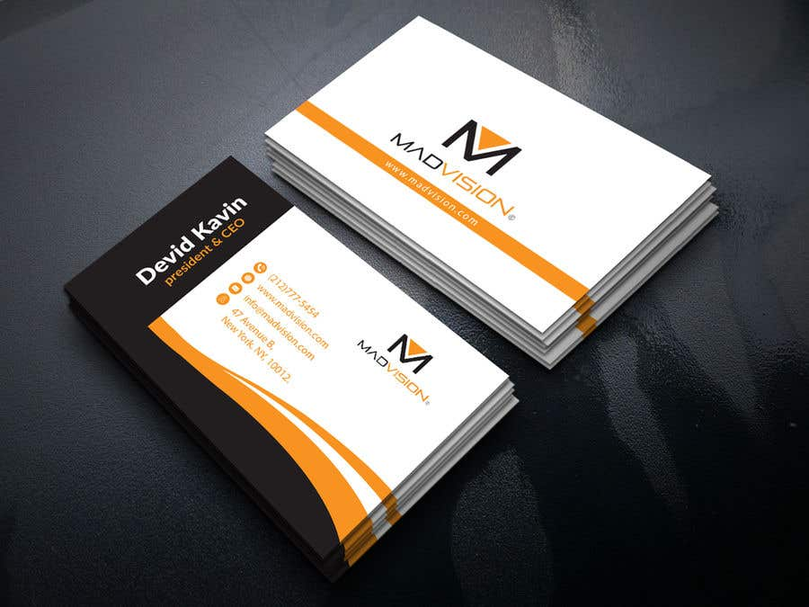 Proposition n°419 du concours Layout Business card