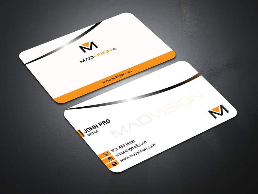 Proposition n°131 du concours Layout Business card