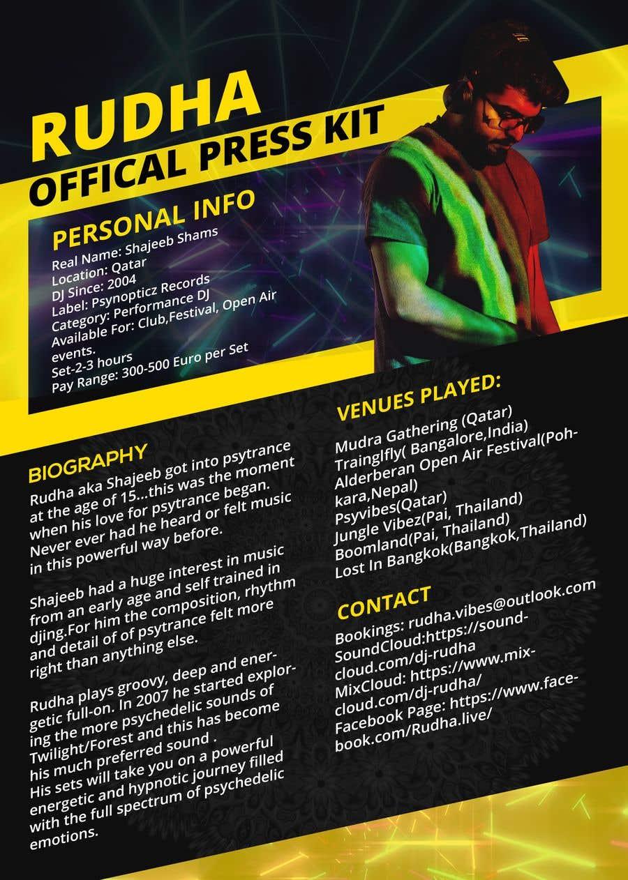 """Intrarea #13 pentru concursul """"DJ protofolio"""""""