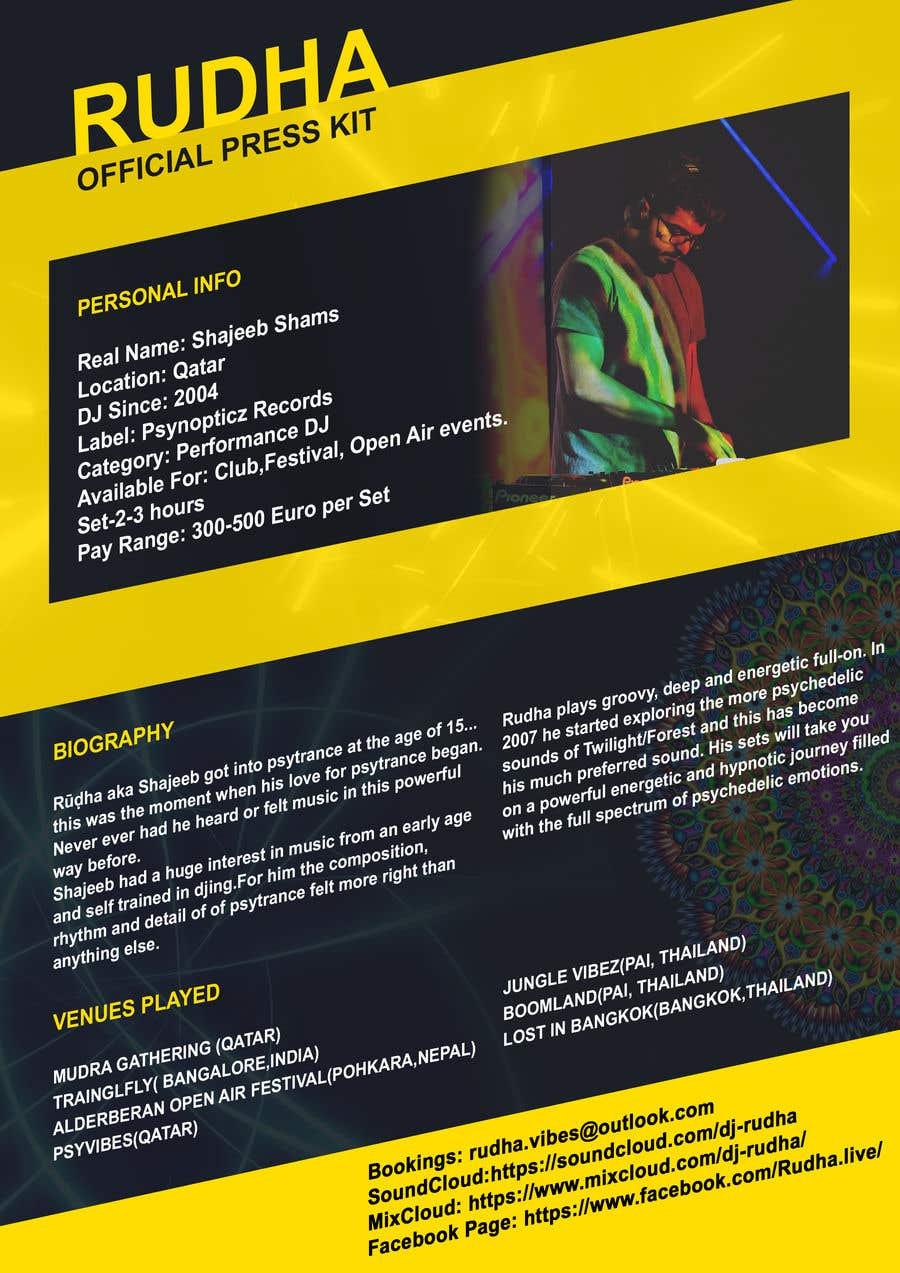 Kilpailutyö #10 kilpailussa DJ protofolio