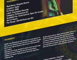 Nro 10 kilpailuun DJ protofolio käyttäjältä saviyaa