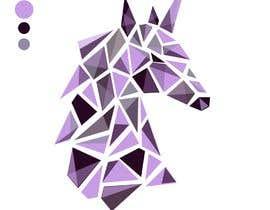#105 for Create Geometric Unicorn Logo af zlostur