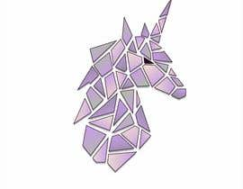 #40 for Create Geometric Unicorn Logo by AntonLevenets
