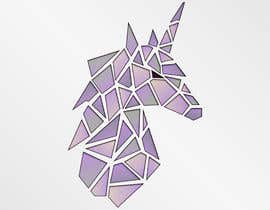 #64 for Create Geometric Unicorn Logo by AntonLevenets