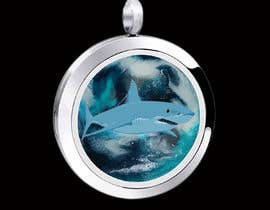 #19 for Stainless Steel Jewelry Designs - Shark Oil Diffuser Locket af syedsumon555