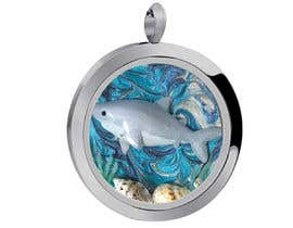 #8 for Stainless Steel Jewelry Designs - Shark Oil Diffuser Locket af ashfaqadil54