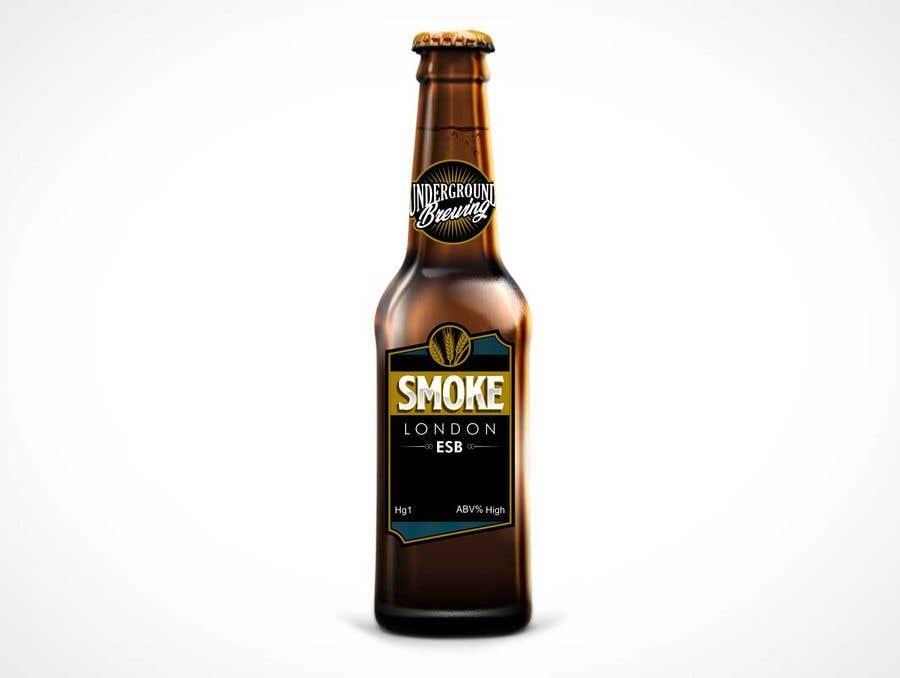 """Intrarea #9 pentru concursul """"Design beer bottle labels"""""""
