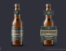 nº 16 pour Design beer bottle labels par megjocson