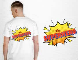 """#94 for Text for tshirts """"The Superhero"""" and """"The Sidekick"""" by luphy"""