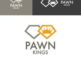 nº 89 pour Logo Design Pawn Kings par athenaagyz