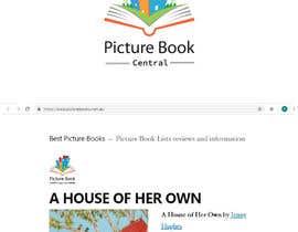 #43 untuk logo for a picture book website oleh kshero845
