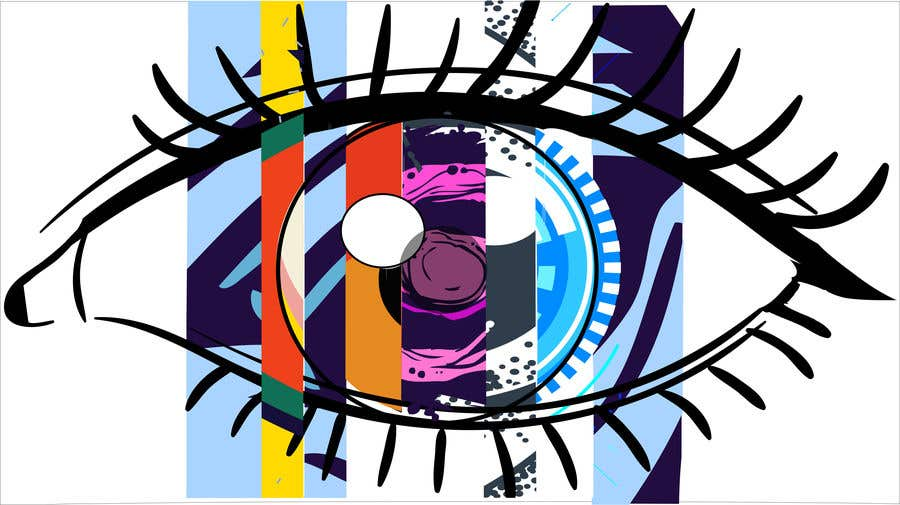 """Contest Entry #25 for Comic/Graphic Art """"Eye"""""""