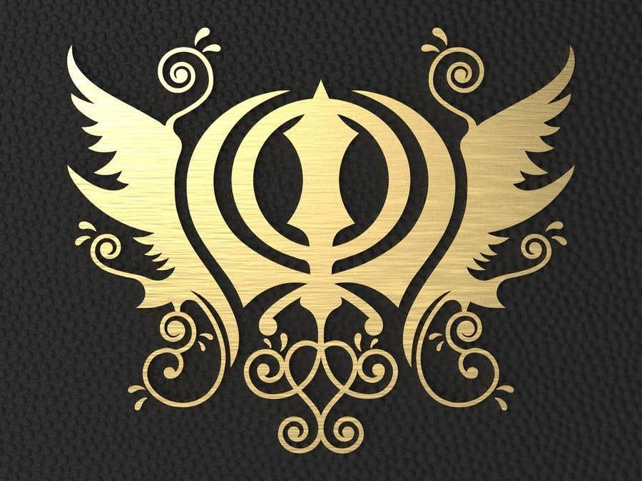 Penyertaan Peraduan #19 untuk CAD Drawing of modified Sikh Khanda