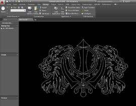#7 for CAD Drawing of modified Sikh Khanda by SriniEngg