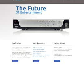 #1 para Website Design for New Digital Video Recorder and Home Media System por zipmango