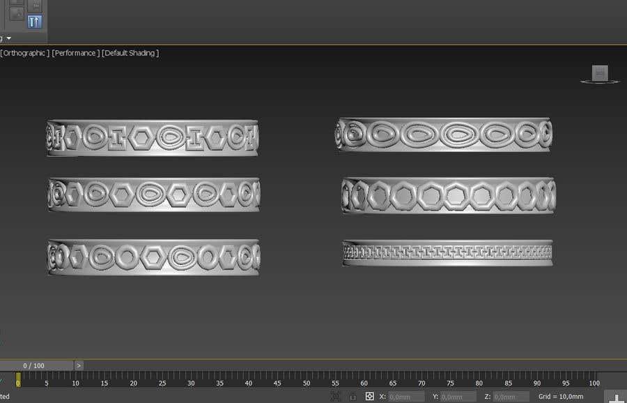Penyertaan Peraduan #13 untuk Ideas/illustration for new women silicone stack rings