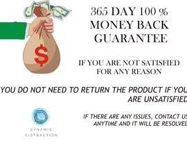 #4 для Infographic needed for money back guarantee от salman2912