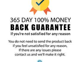 #6 для Infographic needed for money back guarantee от premdholu1996