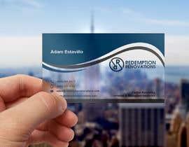 #6 для Business Cards for Redemption Renovations от abdulmonayem85