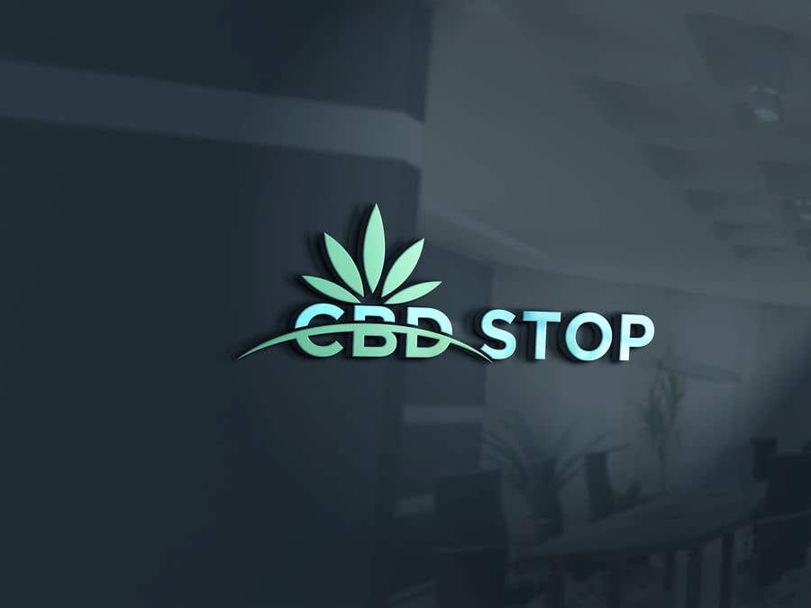 Kilpailutyö #179 kilpailussa CBD Stop Logo