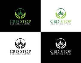 Nro 191 kilpailuun CBD Stop Logo käyttäjältä mdhasnatmhp