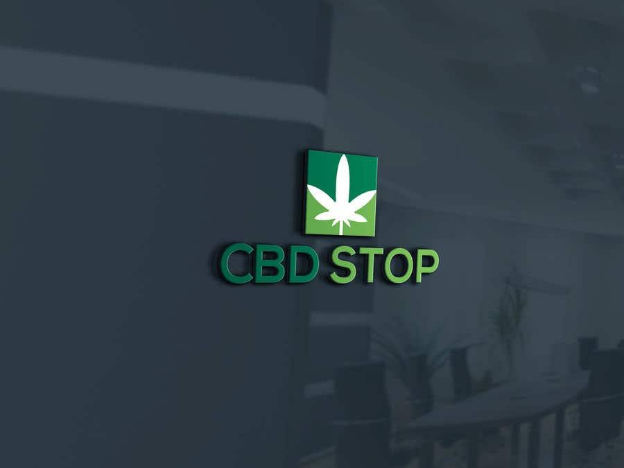 Kilpailutyö #128 kilpailussa CBD Stop Logo