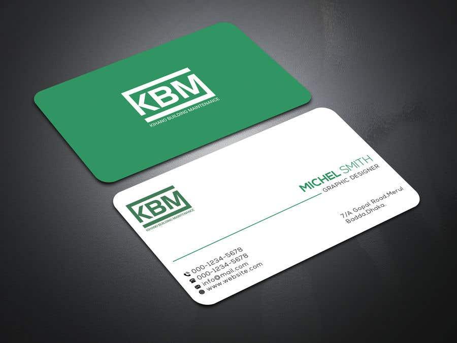 Inscrição nº 18 do Concurso para Design a Logo & Business Cards for KBM   Diseño de Logo y Tarjetas para KBM