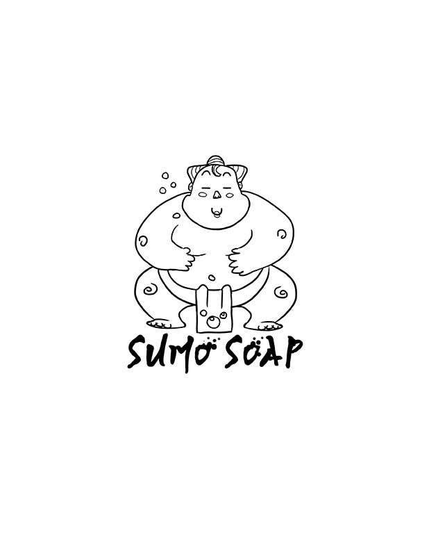 Penyertaan Peraduan #133 untuk Sumo Cartoon Character