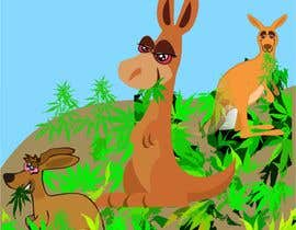 #35 для Graphic Design: Stoned Kangaroo от vw8166895vw