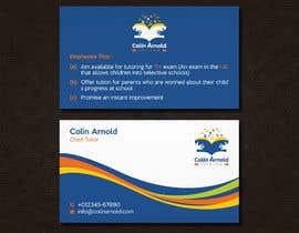 Nro 256 kilpailuun Design a business card käyttäjältä sabuj092
