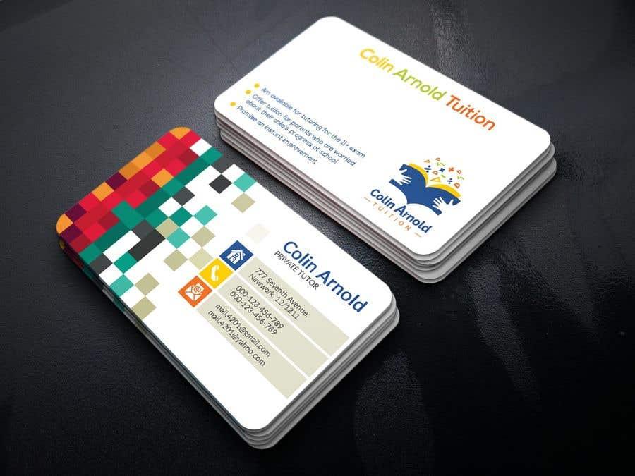 Kilpailutyö #114 kilpailussa Design a business card