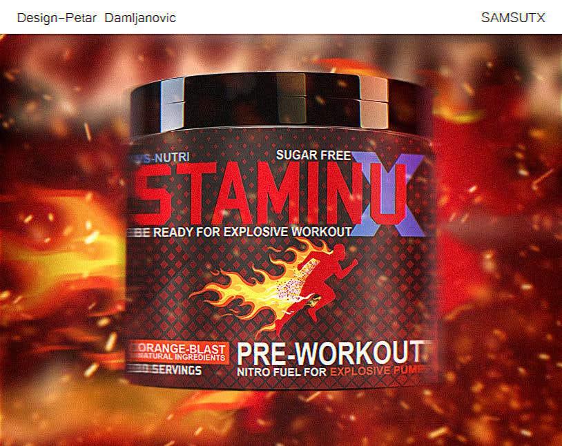 Penyertaan Peraduan #                                        40                                      untuk                                         Design a Pre workout Label