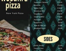 syedasrafulislam tarafından woodfire pizza menu design için no 24