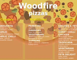 danielwo tarafından woodfire pizza menu design için no 13