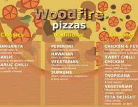danielwo tarafından woodfire pizza menu design için no 15