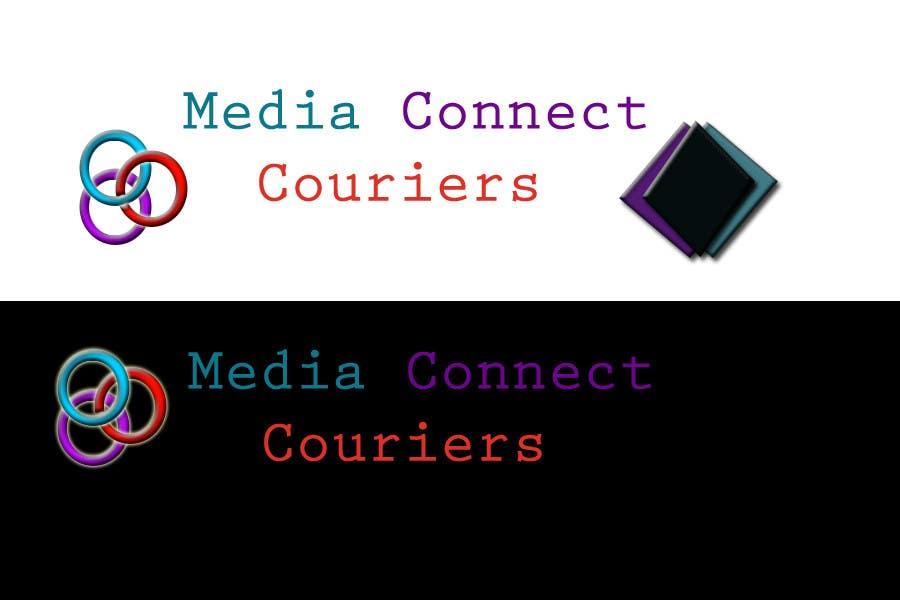 #71. pályamű a(z)  Logo Design for Media Connect Couriers versenyre