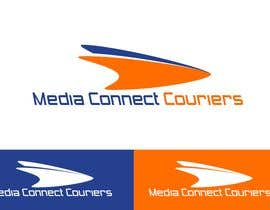 #75 para Logo Design for Media Connect Couriers de LUK1993