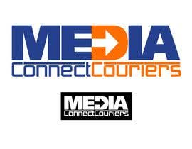 #72 para Logo Design for Media Connect Couriers de LUK1993