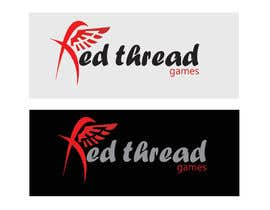 nº 21 pour Logo Design for RED THREAD GAMES par emonsyl