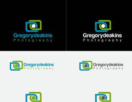 nº 14 pour Logo Design for Greg Deakins - Photographer par Sanjoydas7