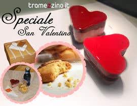 webysistemas tarafından Design a banner for a food delivery website, St. Valentine campaign için no 50