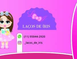 #18 untuk Cartão de Visitas para Loja de Laços para meninas oleh WR12