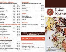 #4 for Design a Three fold Menu leaflet by FarooqGraphics