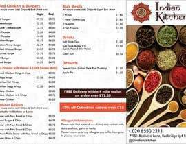#6 for Design a Three fold Menu leaflet by FarooqGraphics