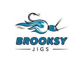 #33 cho Fishing Logo Brooksy Jigs bởi SlavaTerzi