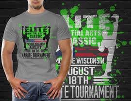 #16 untuk Karate Tournament T-Shirt Design oleh hasembd