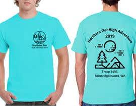 #7 for T-shirt Design for Scout Canoe Trek af humayonkabir1