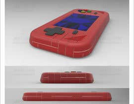#37 for Product ID Design-handheld retro video game console by AnwarDM