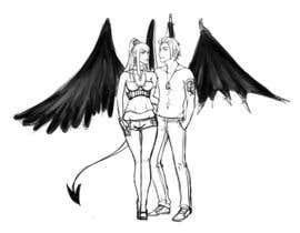#35 untuk Draft Sketch of Fictional Characters - Anime or Fantasy - Original Work Only! oleh PaulinaKawenka